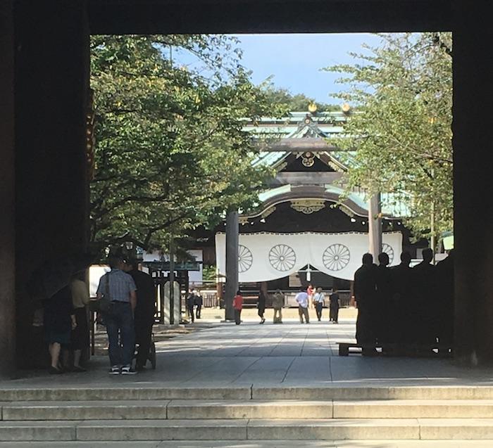 東京出張時に参拝した靖国神社