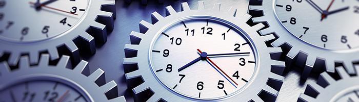 時間、歯車